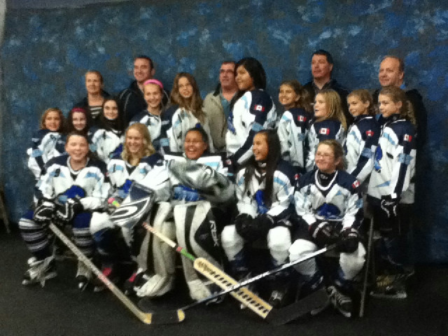 Peewee Girls HL 2012 / 2013